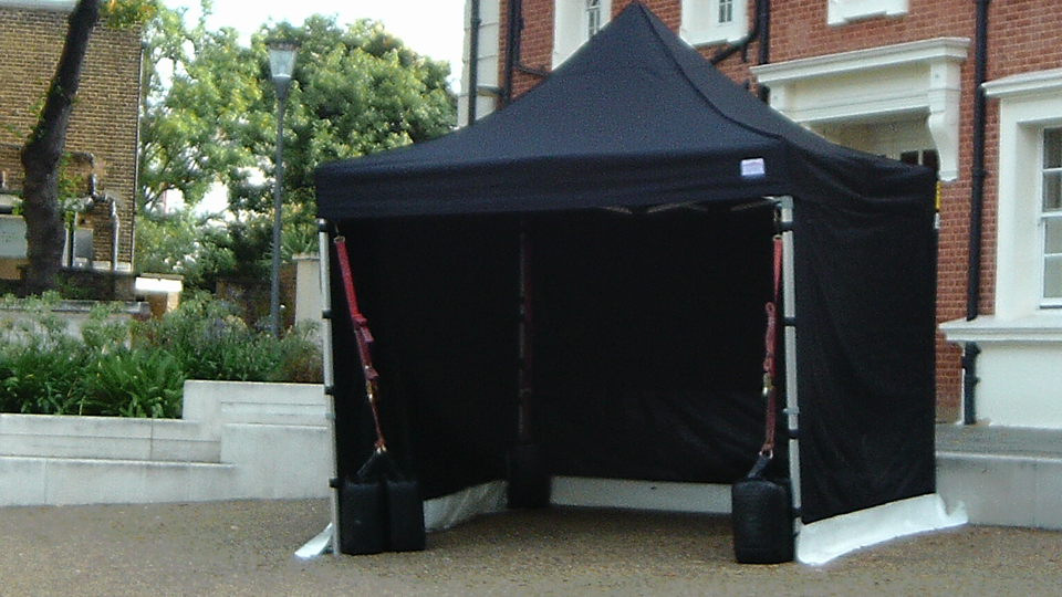 Front of house Gazebo