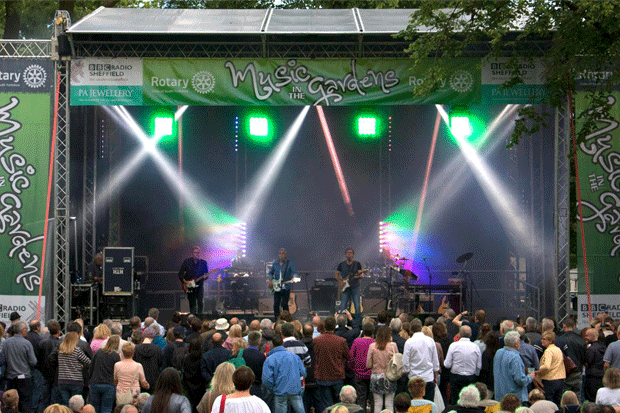 Music in the Gardens - Stage 6